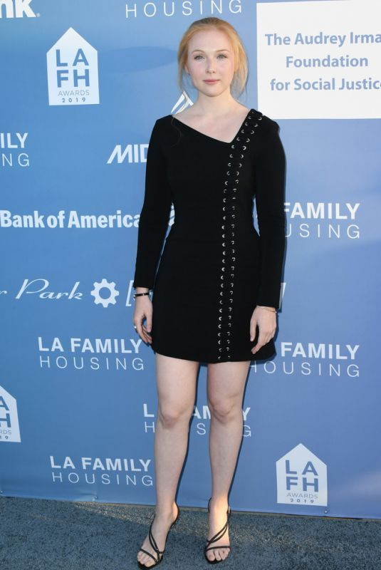 MOLLY QUINN at LAFH Awards and Fundraiser in West Hollywood 04/25/2019