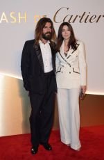 MONICA BELLUCCI and nicolas Lefebre at Clash De Cartier Launch Photocall in Paris 04/10/2019