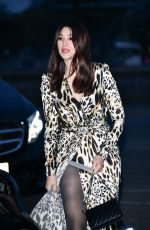 MONICA BELLUCCI Arrives at Diner du Cinema - Madame Figaro in Paris 04/12/2019