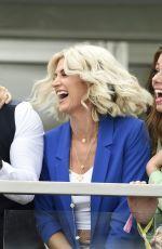 NADINE MULKERRIN, NIKKI SANDERSON and SARAH JAYNE DUNN at Grand National Ladies Day at Aintree Racecourse 04/05/2019