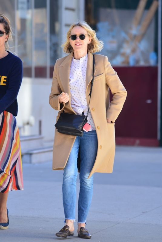 NAOMI WATTS Out and About in New York 04/17/2019
