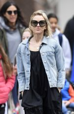 NAOMI WATTS Out in New York 04/08/2019