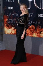 NATALIE DORMER at Game of Thrones, Season 8 Premiere in New York 04/03/2019