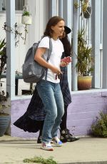 NATALIE PORTMAN Out and About in Los Angeles 04/04/2019