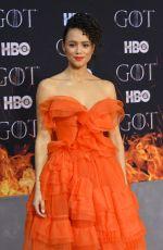 NATHALIE EMMANUEL at Game of Thrones, Season 8 Premiere in New York 04/03/2019