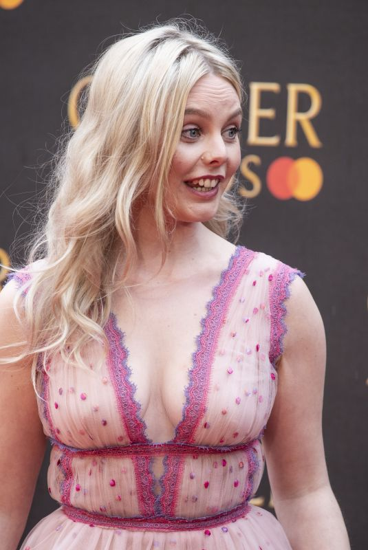 NELL HUDSON at 2019 Laurence Olivier Awards in London 04/07/2019