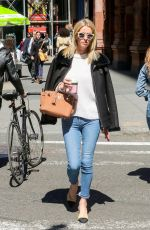 NICKY HILTON Out and About in New York 04/16/2019
