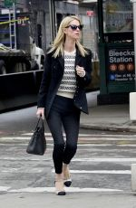 NICKY HILTON Out in New York 04/08/2019