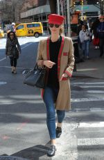 NICKY HILTON Out in New York 04/10/2019