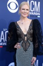 NICOLE KIDMAN at 2019 Academy of Country Music Awards in Las Vegas 04/07/2019