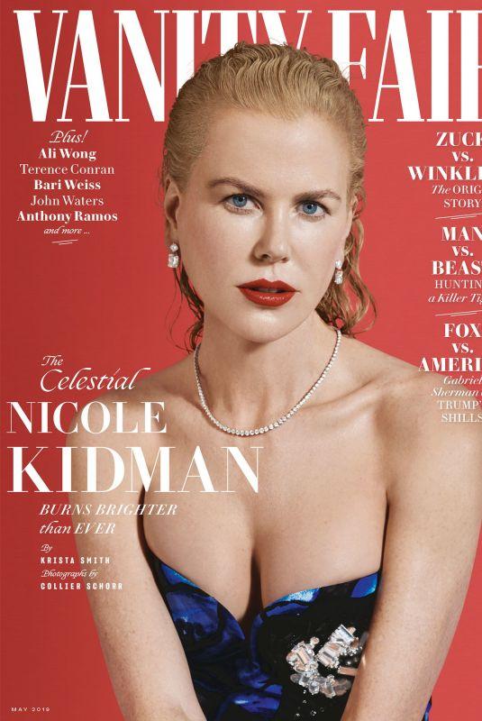 NICOLE KIDMAN in Vanity Fair Magazine, May 2019