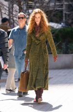 NICOLE KIDMAN on the Set of The Undoing in New York 04/03/2019