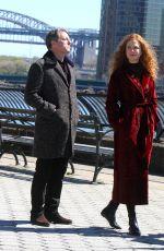 NICOLE KIDMAN on the Set of The Undoing in New York 04/16/2019