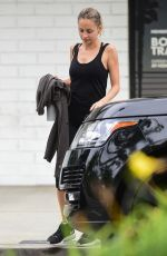 NICOLE RICHIE Leaves Tracy Anderson Gym in Studio City 04/16/2019