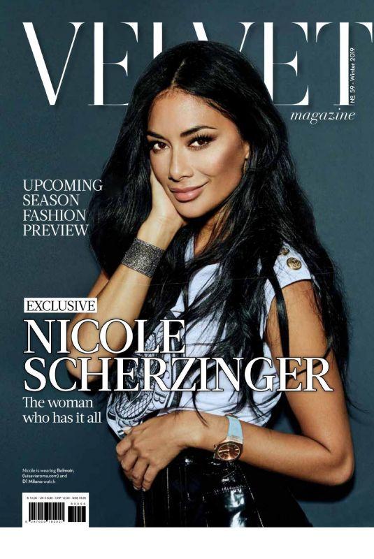 NICOLE SCHERZINGER in Velvet Magazine, Winter 2018/2019