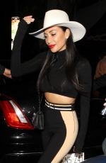 NICOLE SCHERZINGER Leaves Warwick Nightclub in Hollywood 04/10/2019