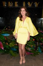 NIKKI SANDERSON at The Ivy Manchester Roof Top Re-launching a Circus Party in Manchester 04/12/2019