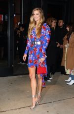 NINA AGDAL Night Out in New York 04/09/2019
