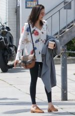 NINA DOBREV Out and About in West Hollywood 04/03/2019