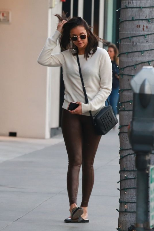 NINA DOBREV Out Shopping in Beverly Hills 04/08/2019