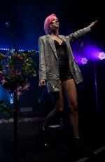 NINA NESBITT Performs at Academy 2 in Manchester 04/13/2019