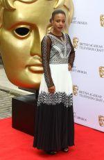 NINA TOUSSAINT-WHITE at British Academy Television Craft Awards in London 04/28/2019