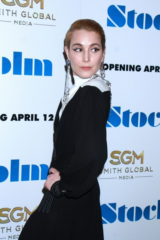 NOOMI RAPACE at Stockholm Premiere in New York 04/11/2019