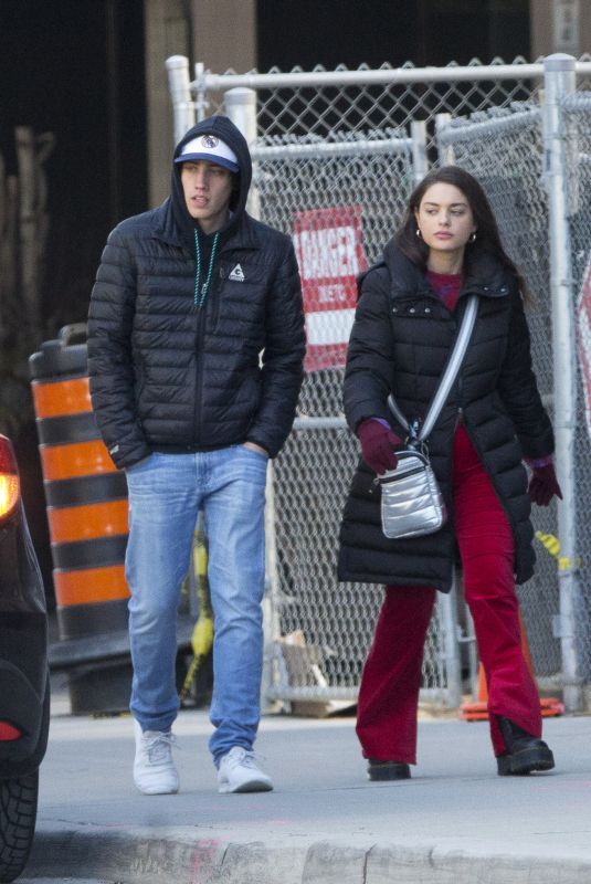 ODEYA RUSH and Ryan Lee Out in Toronto 03/31/2019