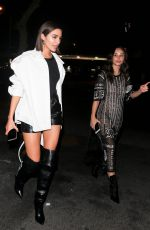 OLIVIA CULPO and CARA SANTANA at Delilah in West Hollywood 04/06/2019