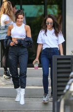 OLIVIA CULPO and CARA SANTANA Out House Hunting in Los Angeles 04/07/2019