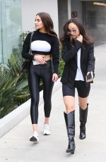 OLIVIA CULPO and CARA SANTANA Out in West Hollywood 04/20/2019