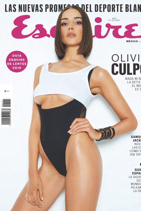 OLIVIA CULPO in Esquire Magazine, Mexico April 2019