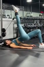 OLIVIA CULPO Workout at a Gym, April 2019