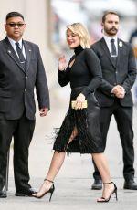 OLIVIA HOLT Arrives at Jimmy Kimmel Kive! in Los Angeles 04/29/2019