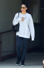OLIVIA MUNN Out and About in Los Angeles 04/02/2019