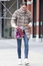 OLIVIA PALERMO Out and About in New York 04/11/2019