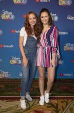 OLIVIA SANABIA at Disney Channel Fan Fest in Anaheim 04/27/2019