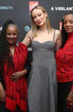 OLIVIA WILDE at A Vigilante Special Screening in New York 04/02/2019