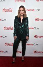 OLIVIA WILDE at Cinemacon Big Screen Achievement Awards in Las Vegas 04/04/2019