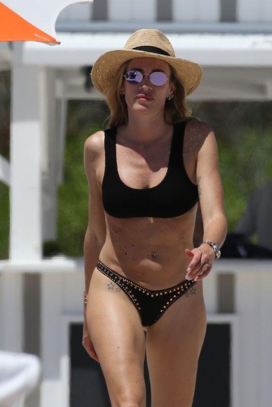 PAOLA AMBROSINI in Bikiniat a Pool in Miami 04/16/2019