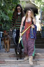 PARIS JACKSON and Gabriel Glenn Out Shopping in Los Angeles 04/03/2019
