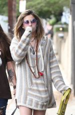 PARIS JACKSON and Gabriel Glenn Out with Their Dog in Los Angeles 04/11/2019