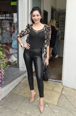 PERLA NAVIA at Spring Pop Up Shop Event at Parea in Cheshire 04/13/2019