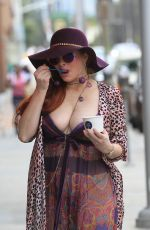 PHOEBE PRICE Out in Beverly Hills 04/08/2019