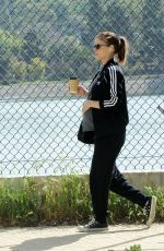 Pregnant KATE MARA Out and About in Los Angeles 04/11/2019