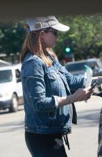 Pregnant KATE MARA Out in Los Angeles 04/10/2019