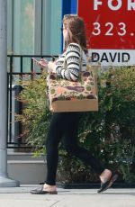 Pregnant KATE MARA Out Shopping in Los Angeles 04/15/2019