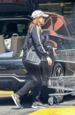 Pregnant KATE MARA Out Shopping in Los Feliz 04/23/2019