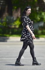 Pregnant KRYSTEN RITTER Out Shopping in Los Angeles 04/23/2019