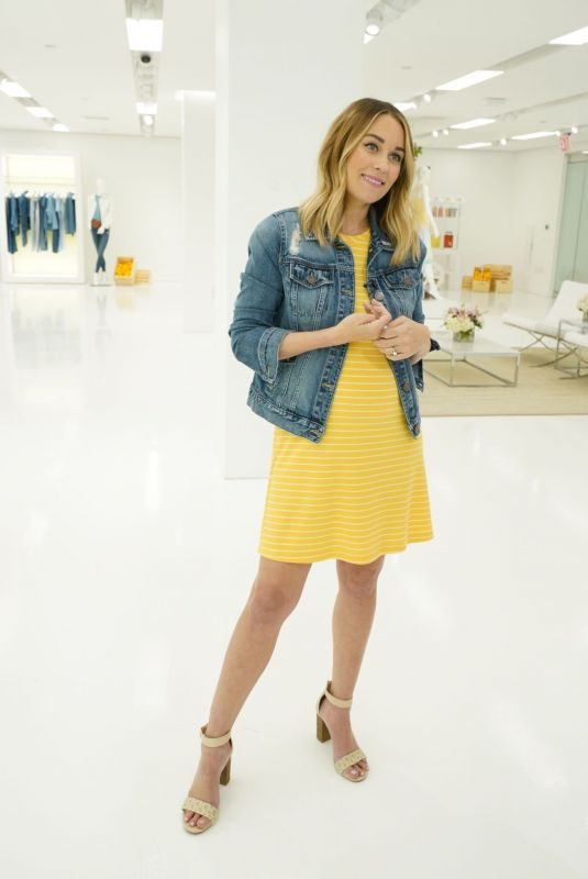 Pregnant LAUREN CONRAD at Her Kohl's LC Spring Collection Launch in New York 04/11/2019